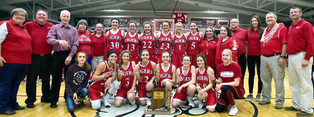 Crothersville Lady Tigers 2017 Sectional Champions